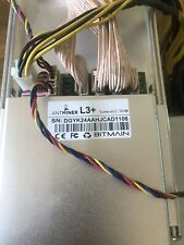 Bitmain Antminer L3+ 504 mh/s Dogecoin/Litecoin with power supply - USA SELLER