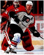 Philadelphia Flyers LUKE RICHARDSON Signed Autographed 8x10 Pic E