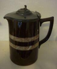 Sadler Vintage Brown Hot Water Pot Hot Chocolate Pot