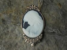 Pin -Mother Mary -Mother Baby -Unique -Virgin Mary And Baby Jesus Cameo Brooch-