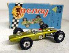 PENNY POLITOYS SCALA 1/66 VINTAGE 0/8 BRM h16 f1 Giallo Auto Modello Diecast