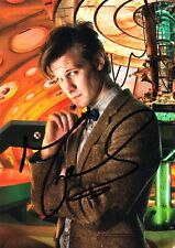 Matt Smith Signed The 11th Dr BBC Official Doctor Who Autograph Postcard