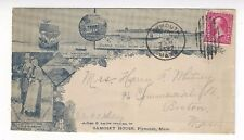 1897 Plymouth MA Overall Civic Advertising Multi View Samoset House Resort Hotel