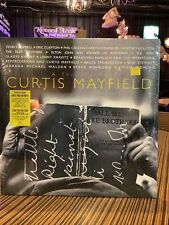 A Tribute To Curtis Mayfield Blue-Grey LP RSD 2021 New & Sealed Drop #2