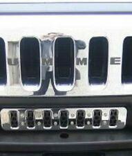 Front Bumper Cap Plug Keeps Out Mud Debris      Hummer H2