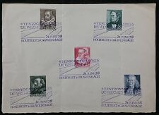 Netherlands - 1938. Cultural & Social Relief Fund - Set of 5, Cancelled to Order