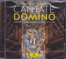 Cd • CANTATE DOMINO LA CAPPELLA SISTINA E LA MUSICA DEI PAPI MASSIMO PALOMBELLA
