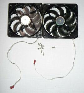 Cooler Master 2pc LOT SickleFlow 120mm Case Fan Blue LED