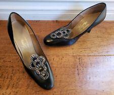 "Vintage Berne of Switzerland Womens Heel Pumps Shoes - Small Size 4B 3"" Heel"