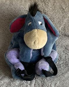 The Walt Disney Company/Store Eeyore Plush Winnie Pooh Backpack