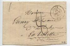 LETTRE ANCIENNE / LILLE / LA VILETTE 1839