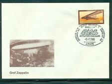 Germany 1980 cover with Zeppelinpost cancel; cachet with Zeppelin photo #3