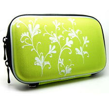 "5.2"" Inch Hard Eva Cover Case For Bag Magellan Roadmate 3030Lm 3045Lm 3055_green"