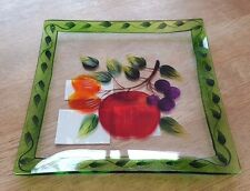 YANKEE CANDLE FRUIT DECOR PLATE/TRAY BRAND NEW
