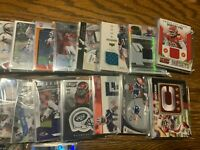 "Football Card Hot Packs - 2 ""Hits"" per 10 Cards Pack *READ DESCRIPTION*"