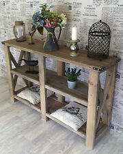 NEW HANDMADE Hall Table 1.6m Rustic Hamptons French Provincial by Savoy Truffle