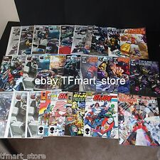 Huge Tranformers Dreamwave IDW + Gi Joe Order of Battle 27 Comic Books Lot