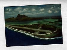 ILOT MOTU MUTE (POLYNESIE) AERODROME / AEROPORT construit en 1943 par AMERICAINS