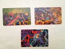 X-men Greatest Battles 1994 Phone Cards