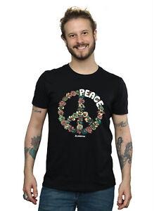 Woodstock Men's Floral Peace T-Shirt