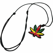 Rasta Reggae Charm Pendant Necklace Chain Mens Womens Ladies Mans Africa Jewelry