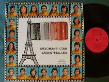 MELOMANE-CLUB ARGENTEUIL - DEDICACE - LP FRANCE MUSETTE 1975