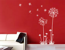 wall stickers Dandelion Flower Removable Art Decal Vinyl Mural Home Decor Au Kid