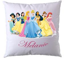 Coussin Princesse Disney personnalisé avec prénom