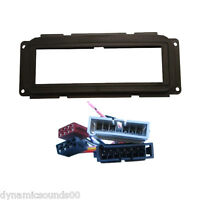 Car CD Stereo Fascia Facia Wiring Fitting Kit For Jeep Cherokee