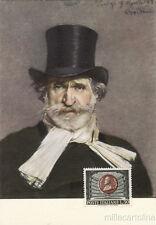 * GIUSEPPE VERDI - Ritratto di Boldini - Fiorenzuola d'Arda Mostra Filatelica