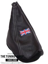 For Mini Cooper Classic Up To 2000 Shift Boot Leather Union Jack Embroidery