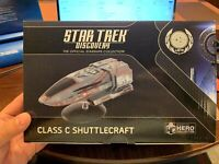 Star Trek Eaglemoss DISCOVERY #19 SHUTTLE (CLASS C SHUTTLECRAFT) w/Magazine