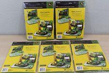 John Deere Child's Pop-Up Activity Place Mat (5) Package Lot (20) Mats Total NEW