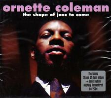 ORNETTE COLEMAN - THE SHAPE OF JAZZ TO COME (NEW SEALED 2CD)