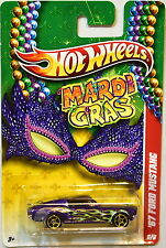 HOT WHEELS 2010 MARDI GRAS '67 FORD MUSTANG #5/6 PURPLE