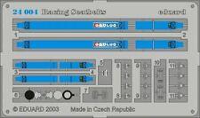 EDUARD 1/24 RACING CAR SEATBELTS- 4-POINTS BLUE (PAINTED) 24004