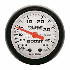 AutoMeter 30 in. Hg/45 psi Phantom Analog Boost/Vacuum Gauge * 5708 *