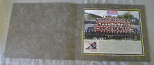 Original CFL Montreal Alouettes 2003 Official Team Photo