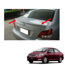 Rear Spoiler TRD Style Painted Fit Toyota Vios Yaris Sedan Belta 2007 - 2013