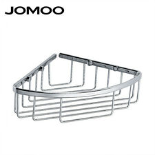 JOMOO Corner Single-layer Bath Caddy Rack Shelf Storage Kitchen Bathroom Organiz