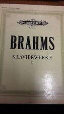 Brahms: Pianoforte Opere Volume 2: punteggio di musica (m10f08)