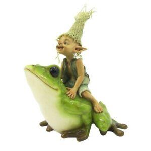 Pixie reitet auf Frosch - Und hopp...!