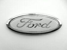 White Ford Logo Bonnet Boot Badge Emblem for Fiesta Focus Escort Connect X1