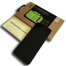 iPhone 6 6S 3D Full Cover Panzerfolie Schutzglas 9H Echtglas Schutzfolie Schwarz