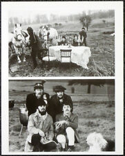 THE BEATLES POSTER PAGE . 1967 FILMING PENNY LANE VIDEO PROMO . 46D