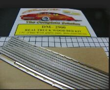 DETAIL MASTER 1/24-1/25 TRUCK BED KIT: BASS WOOD & PHOTO-ETCH BED RAILS 2900