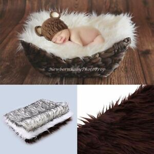 Newborn Baby Photography Props Rug Soft Photo Backdrops Infant Blanket Mats