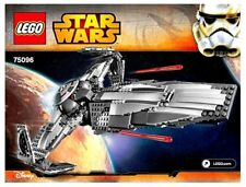 LEGO INSTRUCTIONS for Star Wars SITH INFILTRATOR # 75096 * MANUAL ONLY * NEW