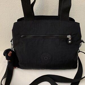 Kipling - Women's Black Classic Shoulder / Grab Bag+Monkey  - 27 X 23 X 10 cm