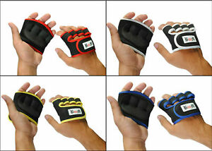 Gym Gloves Neoprene Workout Straps Training Hand Wraps Weight Lifting Palm Grip